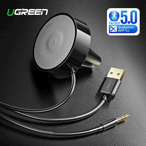 აუდიო ადაპტერი UGREEN CM125 (40760) Wireless Bluetooth 4.2 Music Audio Receiver Adapter APTX
