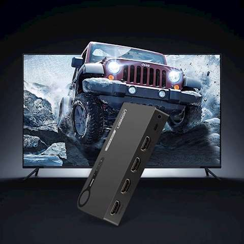HDMI სვიჩი UGREEN 40234 HDMI Switch 1 In 3 out 0 კომენტარი FacebookTwittergoogle_plusLinkedInVKOdnoklassniki