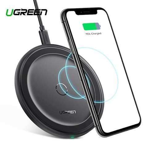 უსადენო დამტენი UGREEN ED032 (60470) QI Wireless charger Black