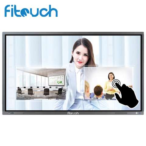 ინტერაქტიული ეკრანი, სმარტ ეკრანი Fitouch TVI75H8A Interactive flat panel Diagonal 75inch Brightness 350cd/㎡ Resolution 3840(H) X 2160(V) RJ45 Android 6.0 Lifetime 50000 hours Android version 6.0, Infrared touch 20 points