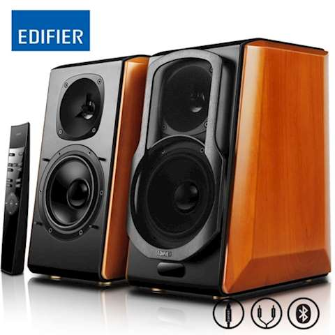 დინამიკი Edifier S2000 Pro Active 2.0 Monitor Speakers 124 W Bluetooth Optical Coaxial 3.5mm AUX