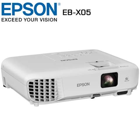პროექტორი Epson Mobile Series EB-X05 XGA (1024x768), 3300 ANSI lumens, 15.000:1, White