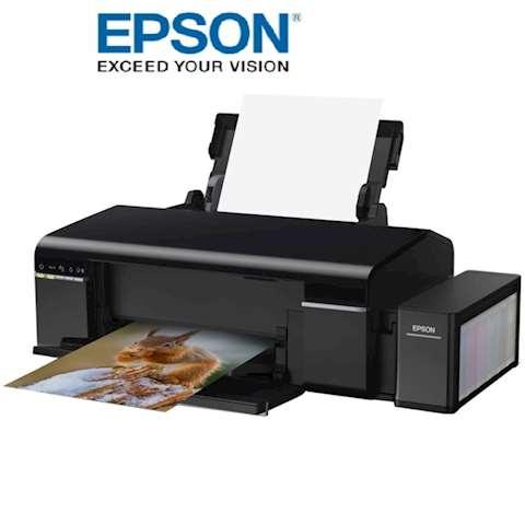 პრინტერი ფერადი დისკზე ბეჭდვით Epson L805 with WI-FI (C11CE86403)