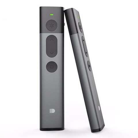 პრეზენტერი მწვანე ლაზერით Doosl DSIT032 2.4 GHz USB Wireless Presenter Green Laser Pointer PPT Remote Control for PowerPoint Presentation