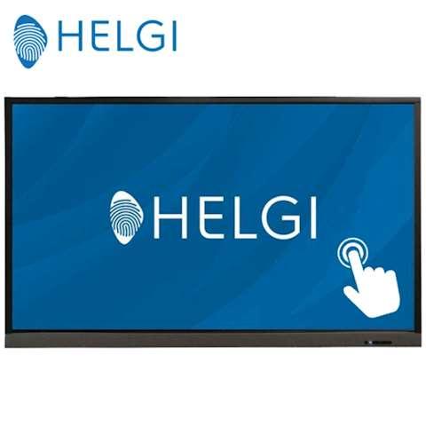 """ინტერაქტიული ეკრანი, სმარტ ეკრანი HELGI TDV65 Interactive Flat Panel Display Native Resolution 3840x2160p UltraHD 4K Panel Size; 65"""", 16:9 Contrast Ratio 4000:1; 16:9; Android 7.1 2GB / 16GB; Speaker 8W (x2)"""