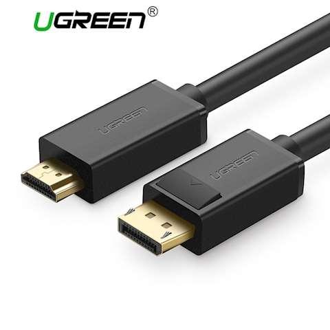 DP კაბელი UGREEN DP101 DP to HDMI male cable 2M 10202