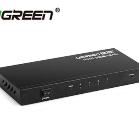 სპლიტერი UGREEN 40202 1x4 HDMI Amplifier Splitter