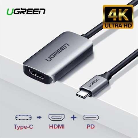 ადაპტერი UGREEN CM159 UGREEN USB Type C to HDMI Converter with PD