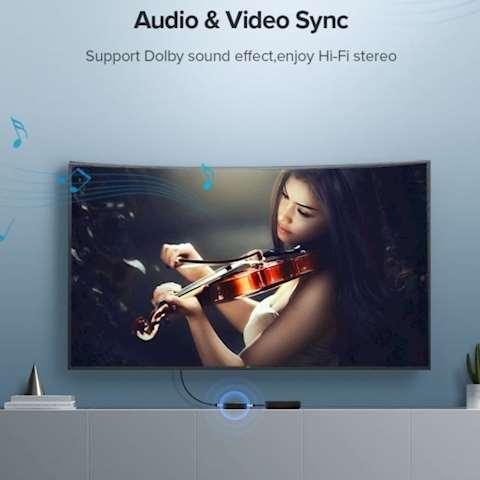 HDMI სვიჩი UGREEN CM217 2 In 1 Out HDMI 1.4 Switcher 4Kx2K@30Hz