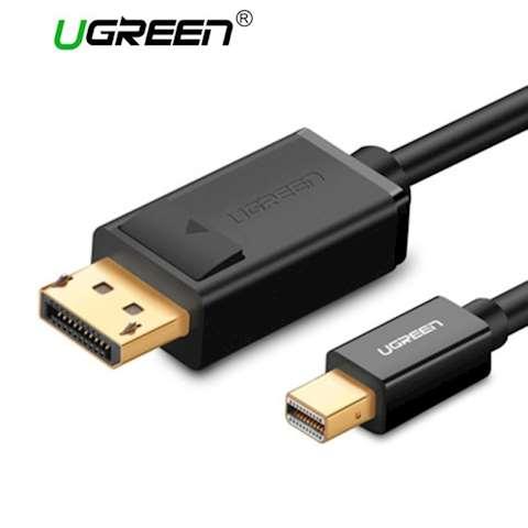 კაბელი UGREEN MD105 Mini DP to DP Cable 1.5m (Black) 0 კომენტარი FacebookTwittergoogle_plusLinkedInVKOdnoklassniki