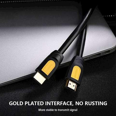 HDMI კაბელი UGREEN HD101 HDMI to HDMI Cable 1.5M (Yellow/Black)