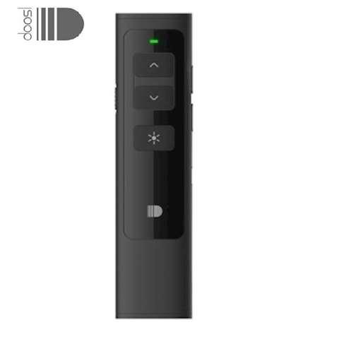 პრეზენტერი DOOSL Wireless Presenter, RF 2.4GHz Rechargeable Powerpoint Remote Control PPT Clicker Presentation Pointer Pen DSIT013