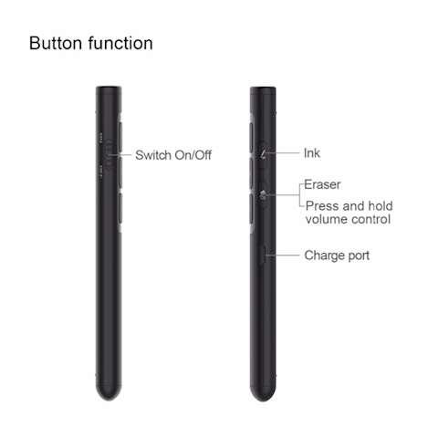 პრეზენტერი მაუსით DOOSL Wireless Presenter Air Mouse Powerpoint Clicker Presentation RF 2.4GHz Remote Control Pen for Projector DSIT014B