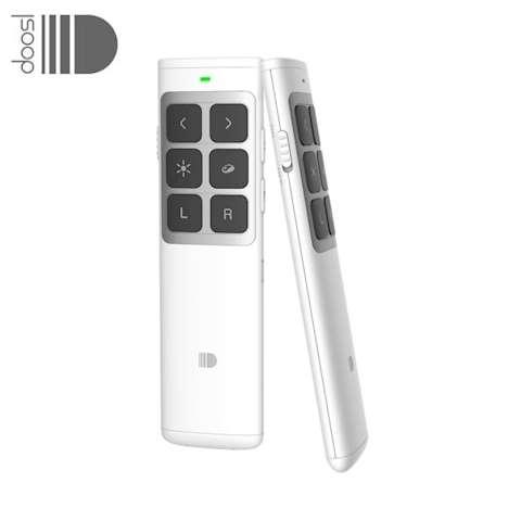 პრეზენტერი DOOSL Wireless Presenter Air Mouse Powerpoint Clicker Presentation RF 2.4GHz Remote Control Pen for Projector DSIT014W