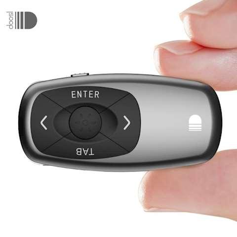 პრეზენტერი DOOSL DSIT011 Wireless Remote Presenter, RF 2.4ghz Mini Rechargeable Powerpoint Presentation Remote Control Pen for Mac Linux Projector