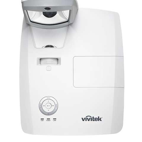 ულტრა მოკლე ფოკუსიანი ინტერაქტიული პროექტორი VIVITEK D756USTi WXGA (1280 x 800) @60Hz 3300 ANSI Lumens Ultra Short Throw Interactive Projector + საკიდი