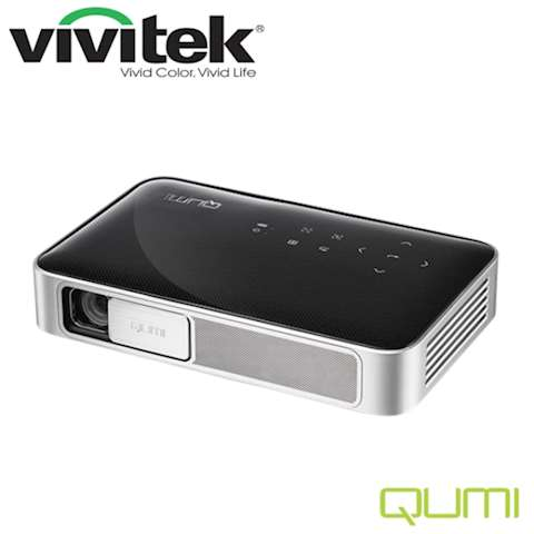 პროექტორი Vivitek Qumi Q38-BK Black LED light source last up to 30,000 hours WXGA	1080p (1920 x 1080) 600 ANSI Lumens 10,000:1 contrast