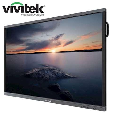 """ინტერაქტიული ეკრანი, სმარტ ეკრანი Vivitek NovoTouch LK6530i Interactive Flat Panel Display Native Resolution 4K UHD 3840 x 2160 Panel Size; 65"""", 16:9 Contrast Ratio 1,200:1; 16:9; AndroidTM v6.0 4GB / 16GB; Speaker 12W (x2)"""