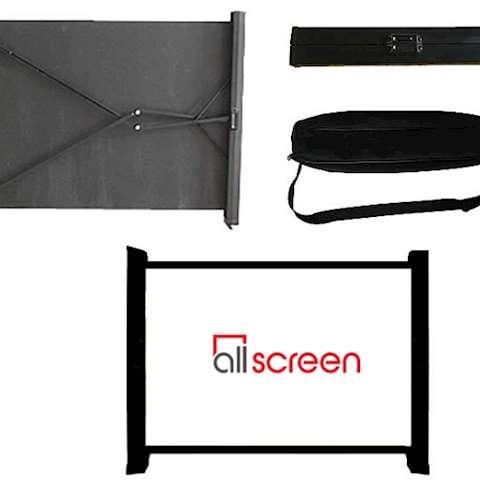 სამაგიდო პროექტორის ეკრანი ALLSCREEN Mini Table Projector Screens 800×1260CM CMTP-5043 HD FABRIC 50 inch
