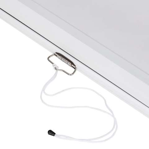 პროექტორის ელექტრო ეკრანი ALLSCREEN ELECTRIC PROJECTION SCREEN 200X200CM HD FABRIC CMP-8080 WITH REMOTE CONTROL 110 inch