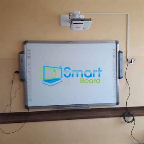 """სმარტ ბორდი, ინტერაქტიული დაფა 2 აქტიური სტილუსით Ligra LUXIBOARD SMARTBOARD Plus IWB 89"""" (16:10) dual users can works at same time ELECTROMAGNETIC technology Active area (size) 193,8x116,1 cm- two active pens provided, no battery change required, Teach Infinity software included ფიზიკური ზომა: 200x122,3x6 cm"""